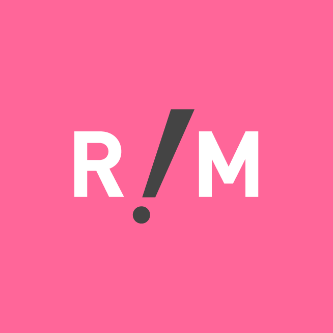 RiotModels Logomark Pink